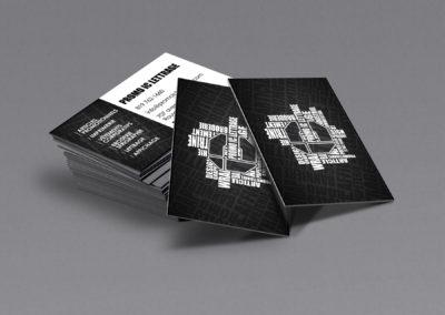 Cartes d'affaires Promo IC Lettrage