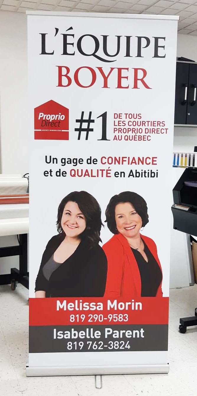 Bannière Équipe Boyer Proprio Direct